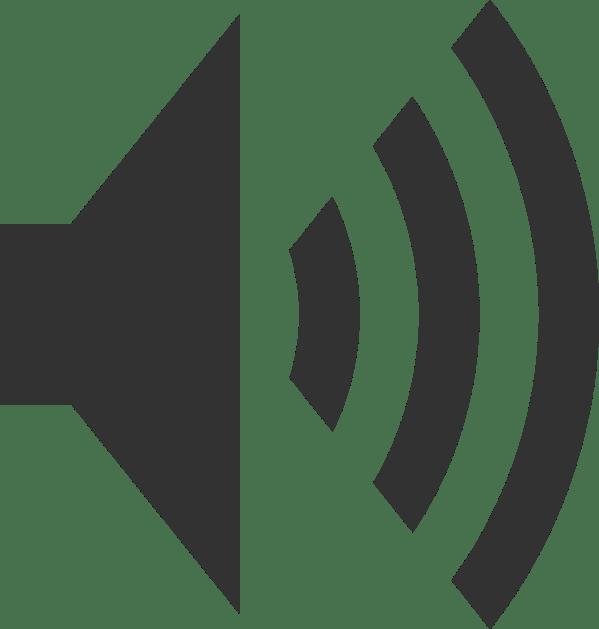 Art Clip Speaker Icon