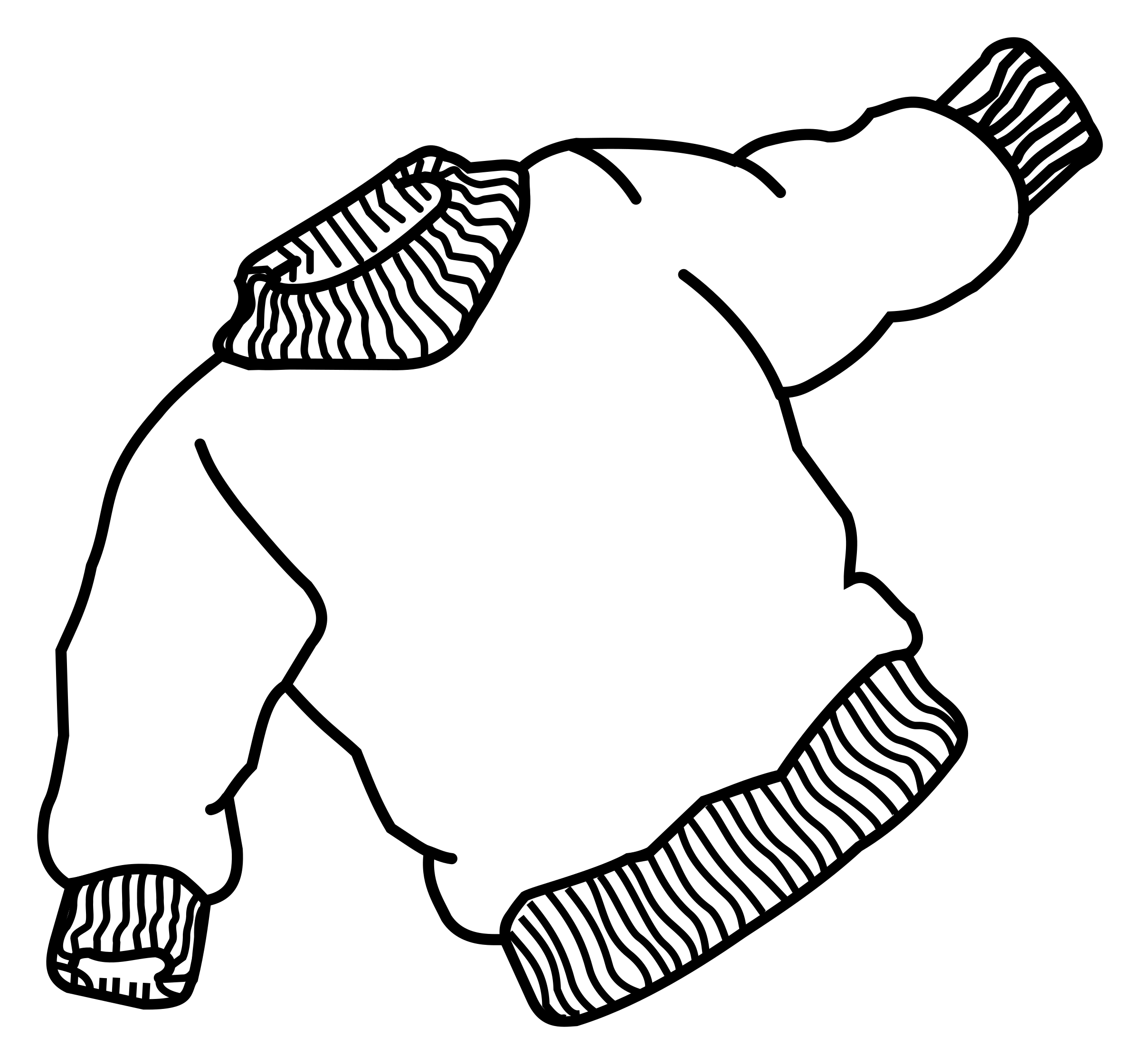 Related Keywords & Suggestions for sweater outline