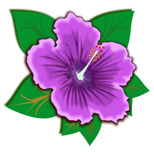 small resolution of jungle flowers clipart