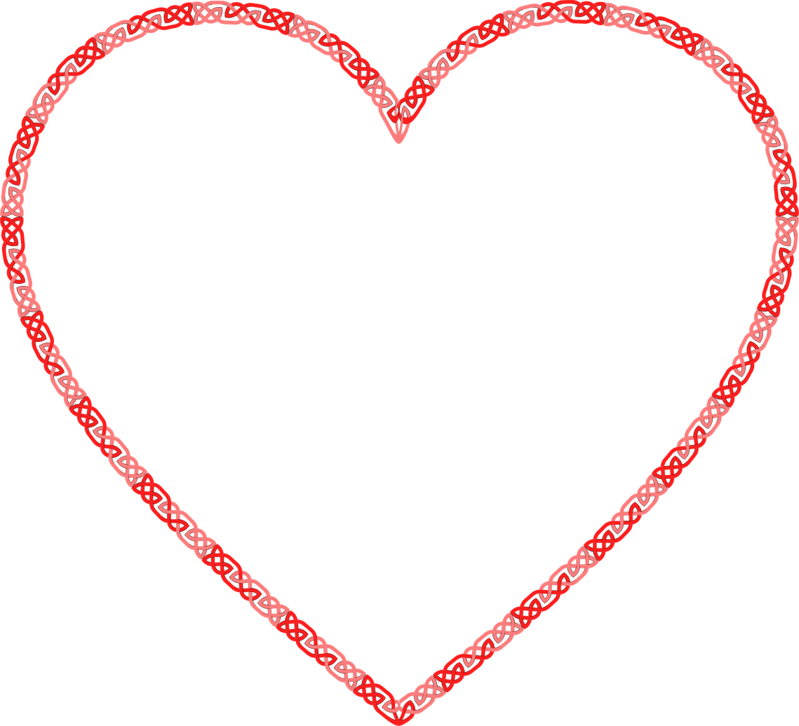 Download Clipart - Celtic Knot Heart