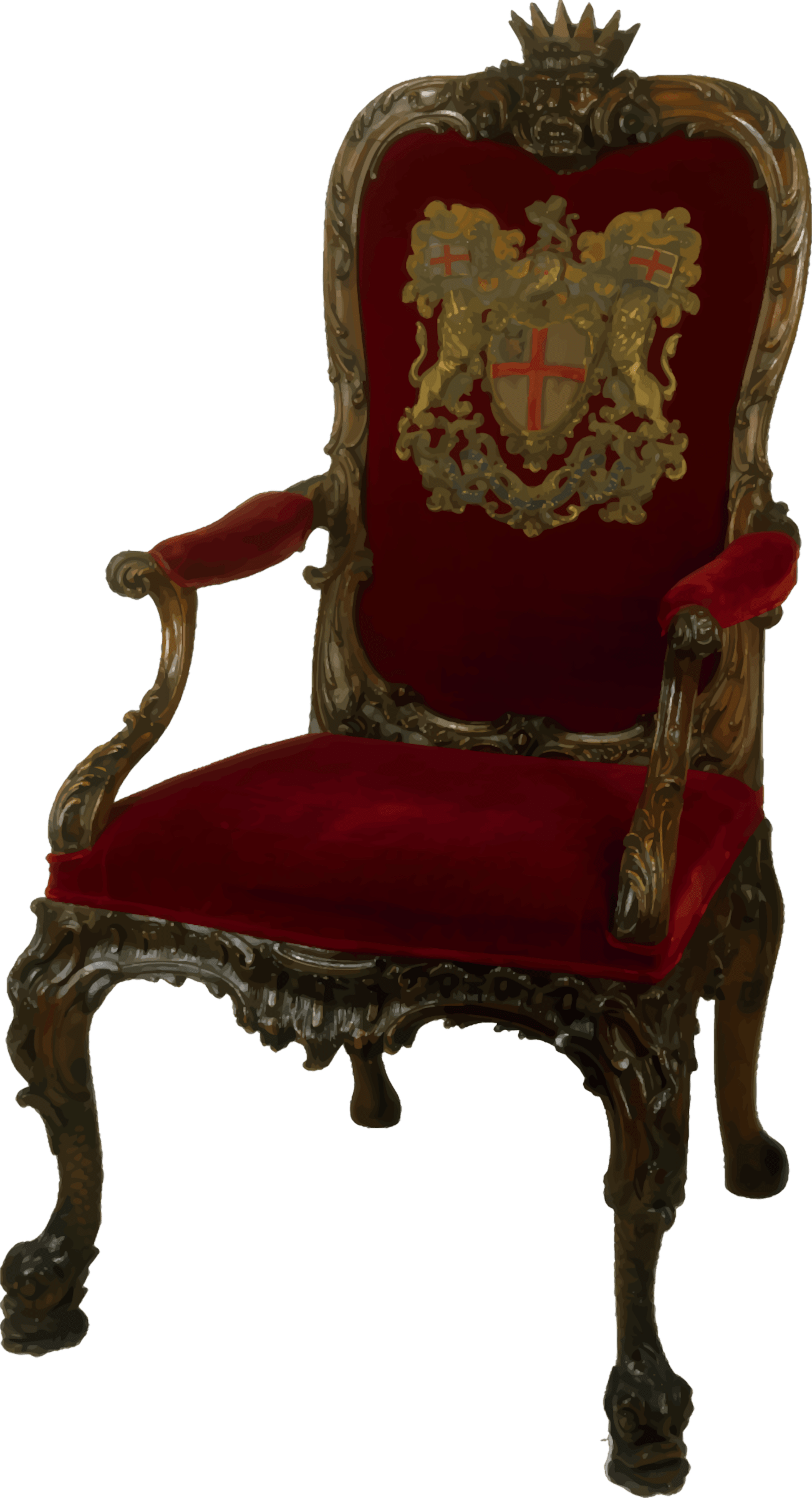 office chair png gaming chairs xbox one clipart ornate walnut