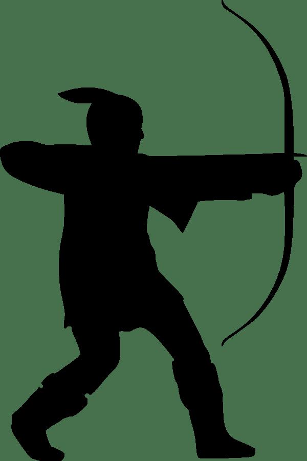 Clipart Nottinghamshire archer