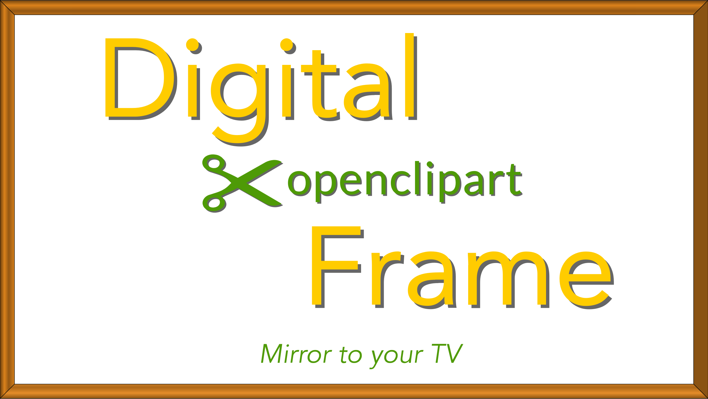 Clipart Digital OpenClipArt Frame