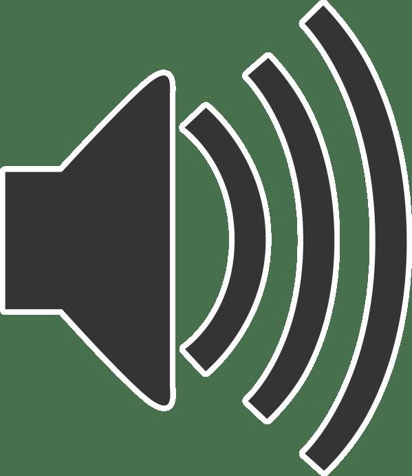 Clipart Speaker Icon