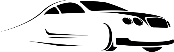 clipart - stylized car silhouette