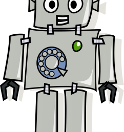 answerphone robot by the martin [ 1381 x 2400 Pixel ]
