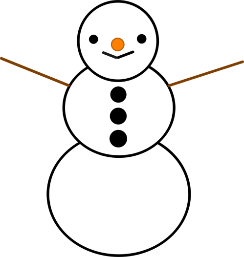 small resolution of snowman