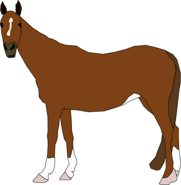 Clipart - Horse