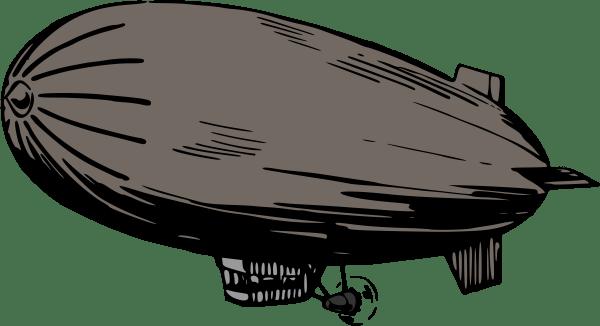 Zeppelin Blimp Clip Art