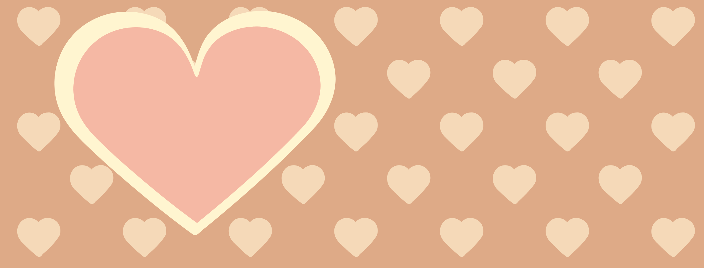 Clipart Valentines Day Background