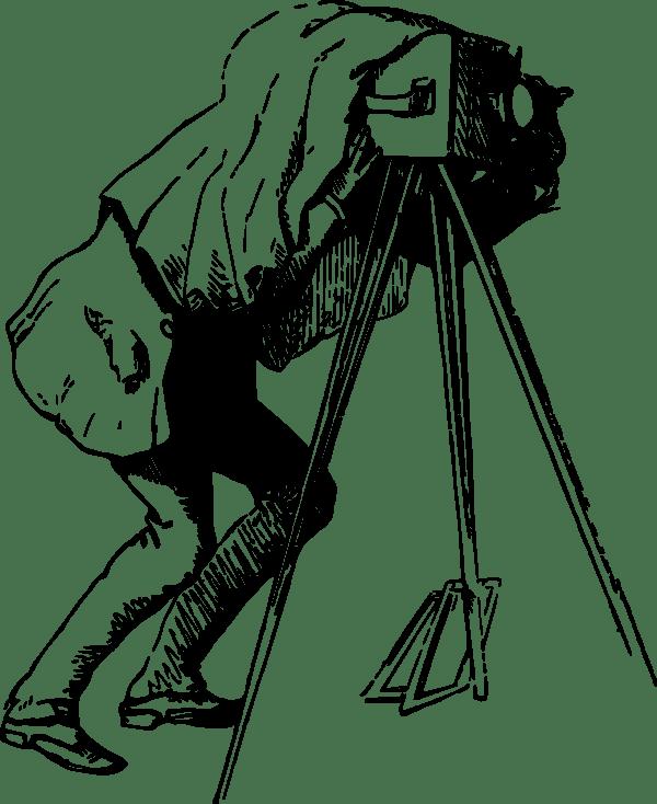 Vintage Photographer Clip Art