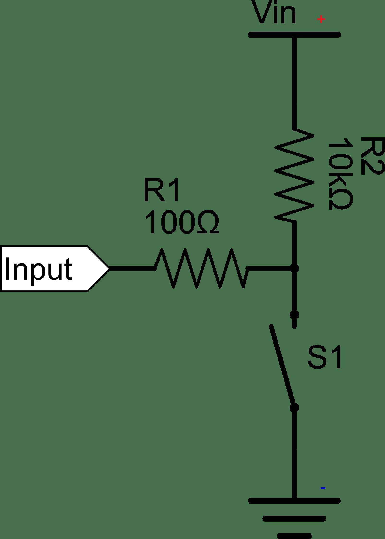 resistor circuit diagram dna vs rna venn clipart pull up schematic big image png
