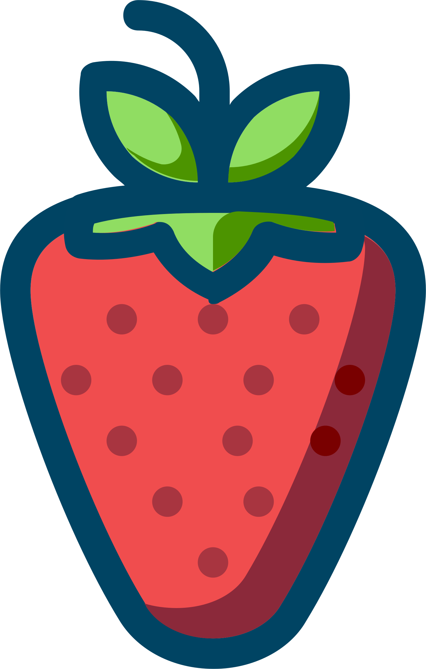 hight resolution of strawberry