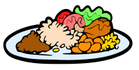 Clipart - Meal Plate