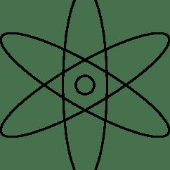 Atomic Symbol Diagram Harley Davidson Wiring Diagrams Clipart Stylized Atom