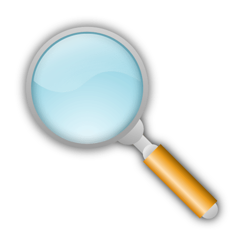 small resolution of magnifying glass