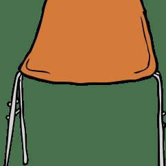 Transparent Polycarbonate Chairs Aluminum Kitchen Clipart Modern Chair Front