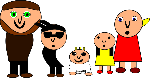 Clipart - Family