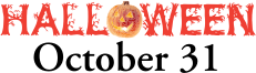 Halloween - October 31