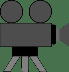 Movie Camera by schoolfreeware -