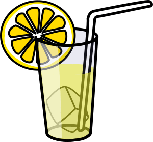 clip art of lemonade