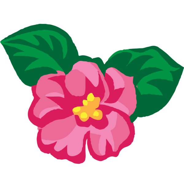 Clipart - African Violets 2