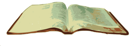 Open Bible by mahanaim - Vectorisation of an open Bible