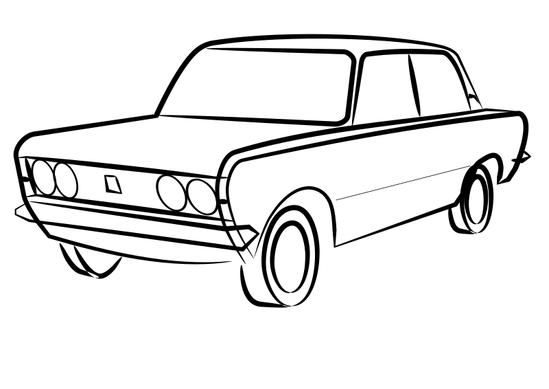 Polski Fiat ledningsdiagram