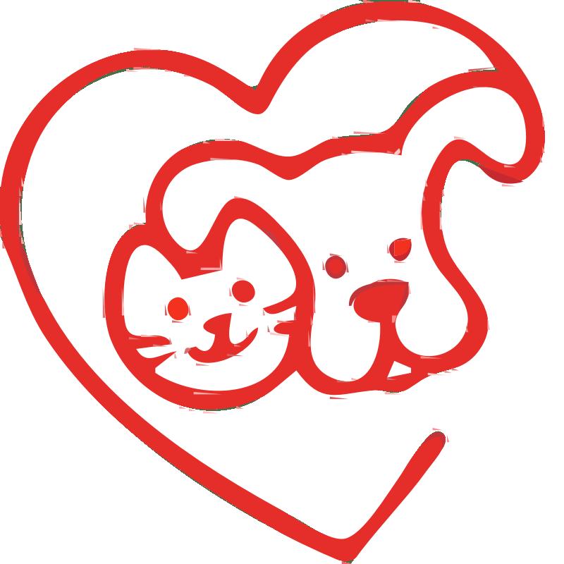Download Clipart - love animals