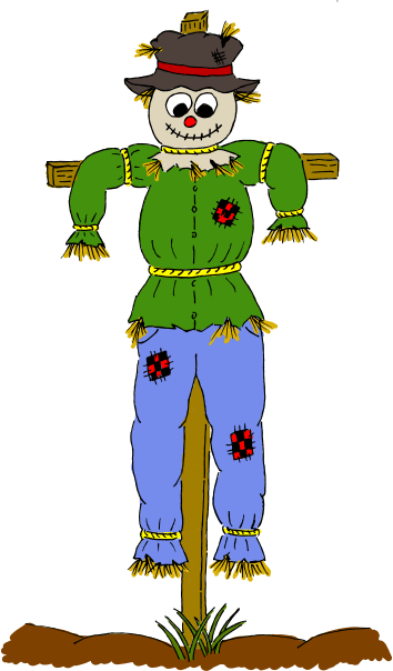 clipart - scarecrow