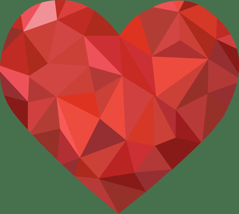 Clipart Textured Heart 4