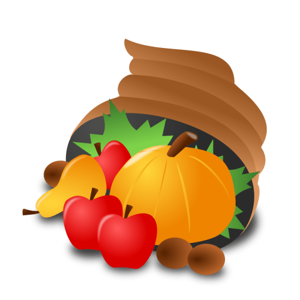 clipart - thanksgiving day icon