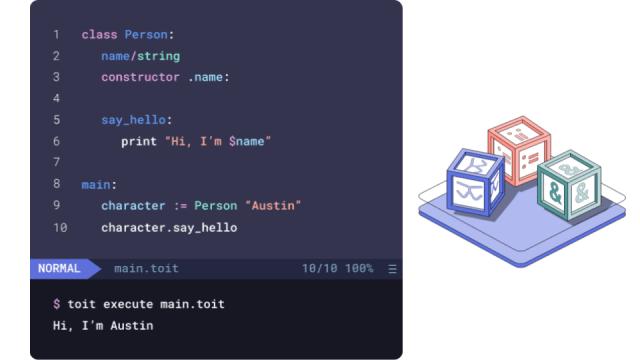 Toit platform language