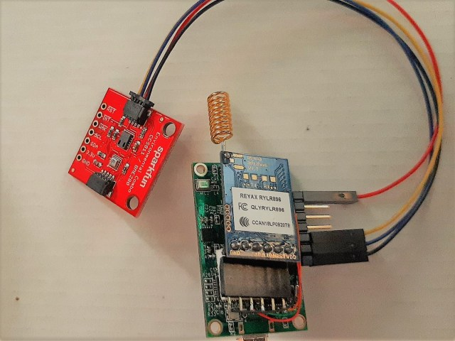 Himax WE-I LoRa SparkFun connections