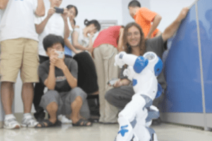 OpenCog controlled Nao robot