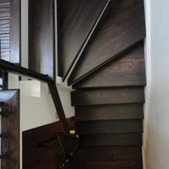 Free Kitchen Makeover Hand Towels For The Burlington Stair Refinishing, Treads, Risers, Rails, Newel ...