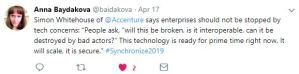 Anna Baydakova Global Blockchain