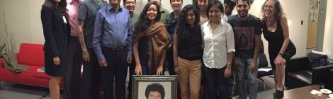 Sonia Sanchez receives Nazneen Sada Mayadas Scholarship