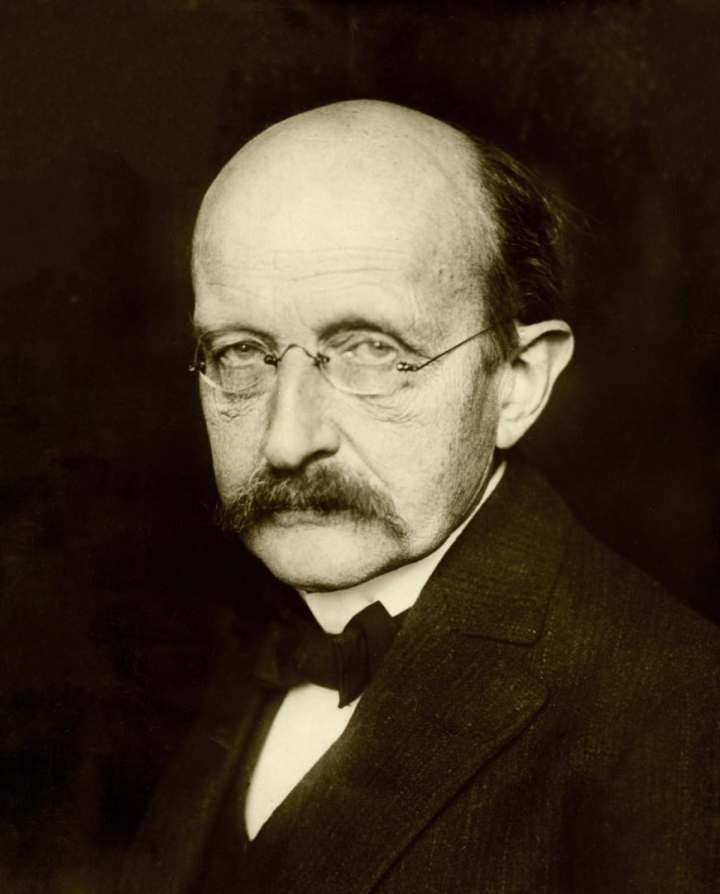 This cheery looking fellow was a physicist and a genius. His name was Max Planck. A photograph from 1933.