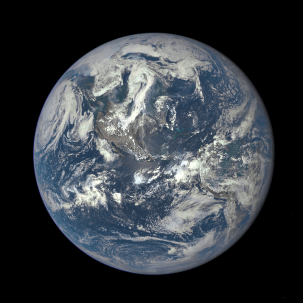 "New ""Blue Marble,"" captured by NASA in 2015"