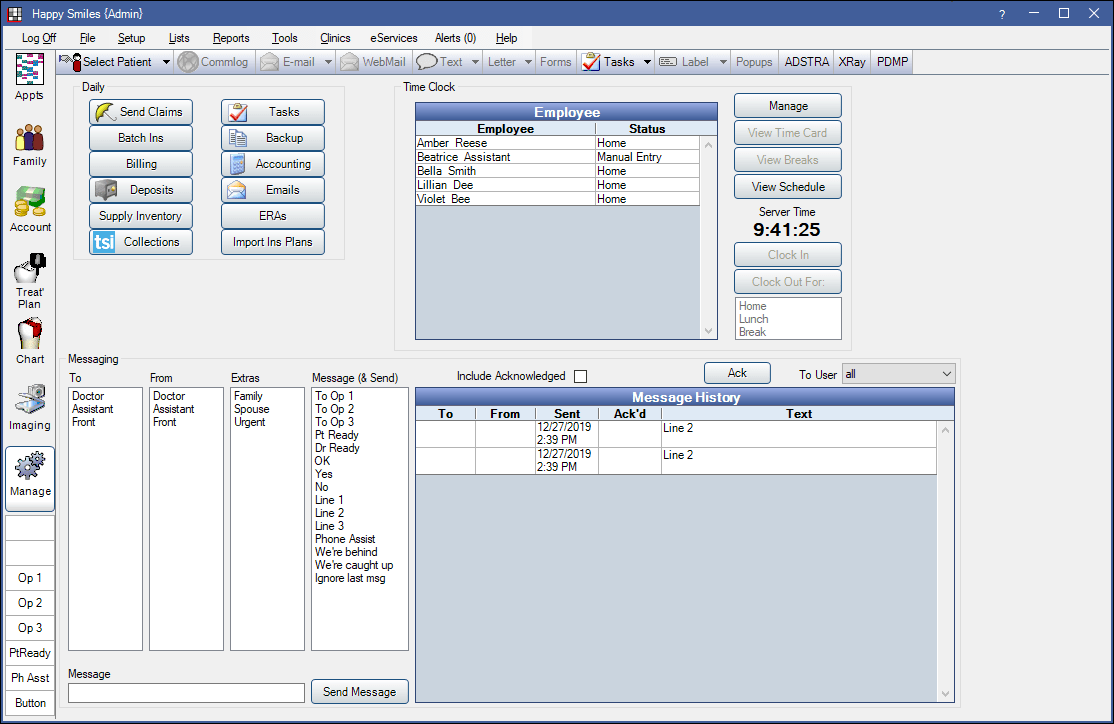 Manage Module