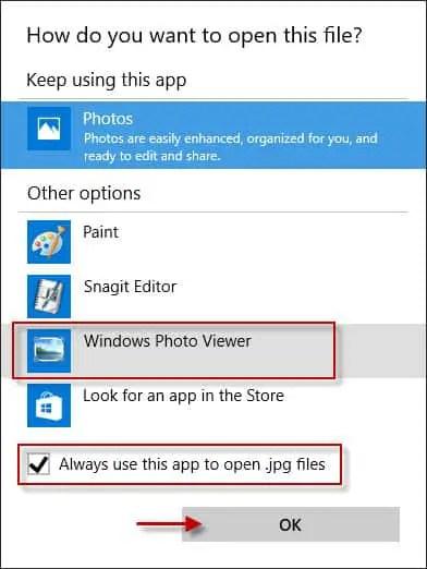 open jpg files
