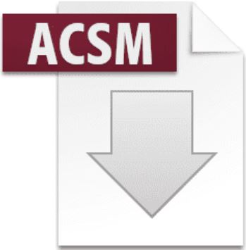 open acsm file