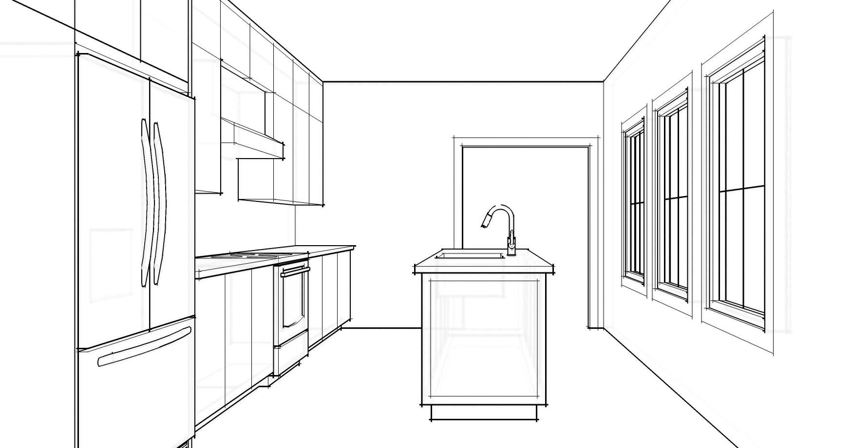 Open Door ArchitectureWill an Island Fit in Your Kitchen