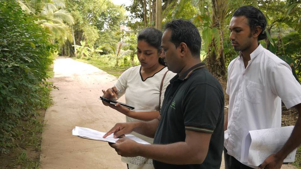 Fieldwork and validation in Gampaha