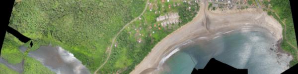 São Tome aerial image