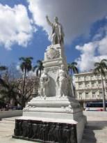 Statue of Jose Marti, Havana, Cuba, 2017.