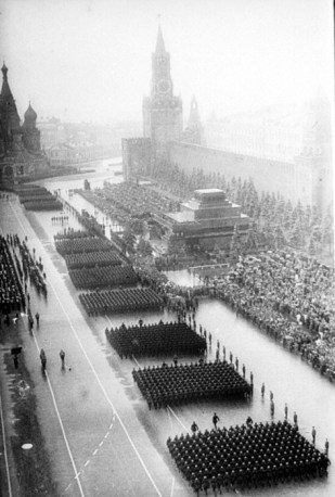 The First Victory Day Parade, Red Square, Moscow, 1945.