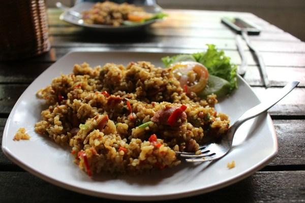 cuisine a bali gastronomie bali nasi goreng