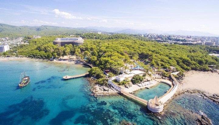 Hôtel wome deluxe vue depuis la mer